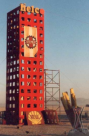 Helco Tower by Flynn Mauthe, 1996 (photo by Maya Hayuk)
